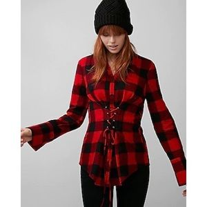 2 for 15$ Corset flannel shirt.